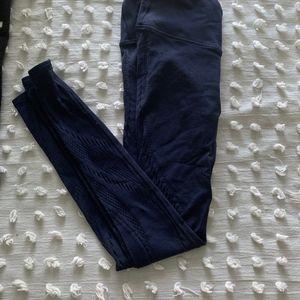"lululemon athletica Pants - Lululemon Reveal Tight Precision 25"" Navy Blue"